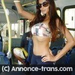 Plan direct avec superbe transexuelle