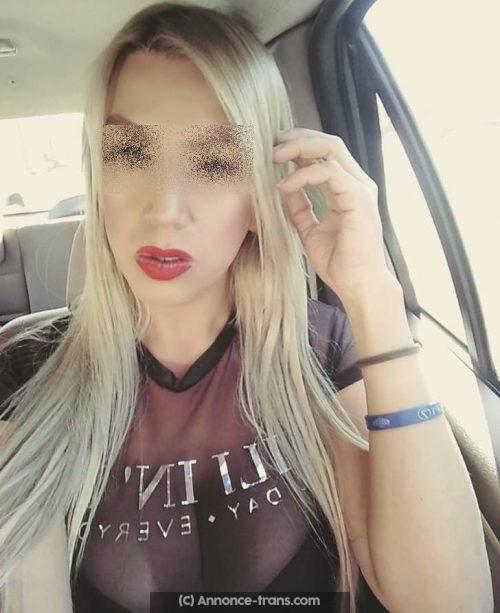 Rencontre une transexuelle blonde de Dijon
