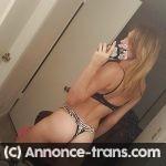 Gina transexuelle reçoit homme pour gros besoin de sexe