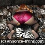 Travestie ronde et mariée et très passive offre ses trous a bons mâles