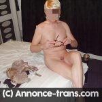Douce travestie mature pour jeux de fellation a Aix